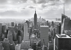 Фотообои «NYC Black And White» (368 х 254 см)