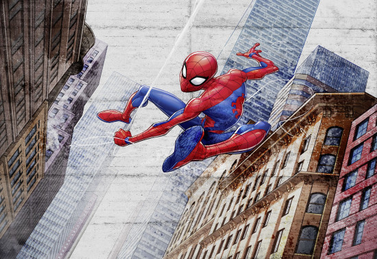 Фотообои «Spider-Man New Concrete» (368 х 254 см)