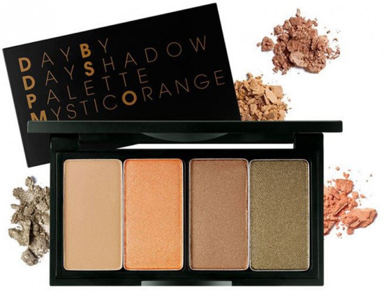 Тени для век «Day By Day Shadow Palette», оттенок Mystic Orange