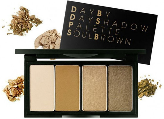 Тени для век «Day By Day Shadow Palette», оттенок Soul Brown