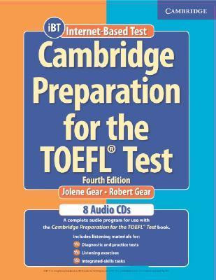 Cambridge Preparation for the TOEFL® Test Fourth edition Audio CDs (8). Кембриджская подготовка к Toefl