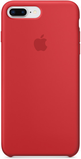 Чехол cиликоновый для iPhone 7 Plus/8 Plus, (product red)