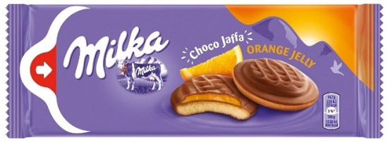 Бисквит Milka «Jaffa Orange»