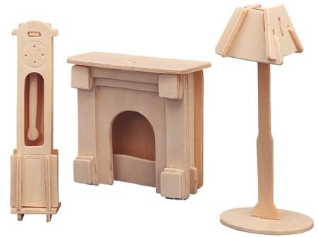 Мебель из фанеры для куклы