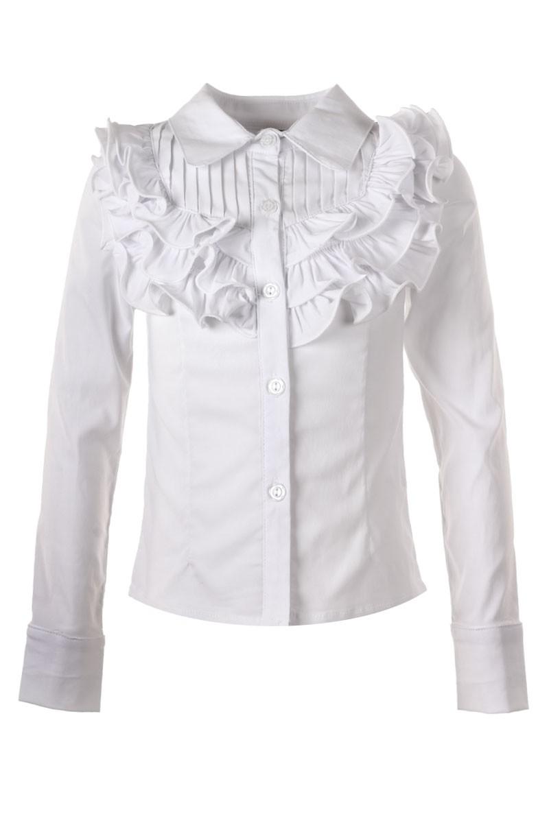 Школьные Белые Блузки Для Полных Девочек