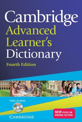 Cambridge Advanced Learner's Dictionary (+ CD-ROM)