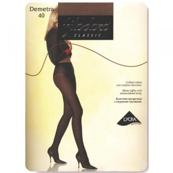 Колготки Filodoro Demetra размер 4 плотность 20 Den Cognac