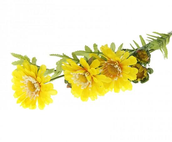 Желтые ромашки декор