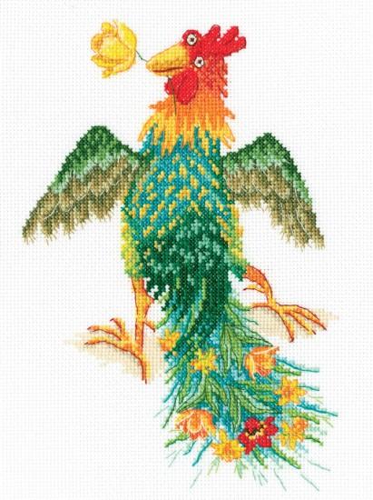 Вышивка крестом жар птица набор