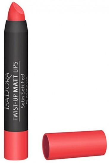 Помада для губ IsaDora Twist-up Matt Lips, тон 62 Raving Red