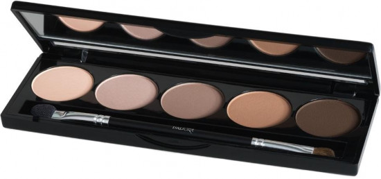 Тени для век IsaDora Eye Shadow Palette, 50 Matte Chocolate, 7,5 г