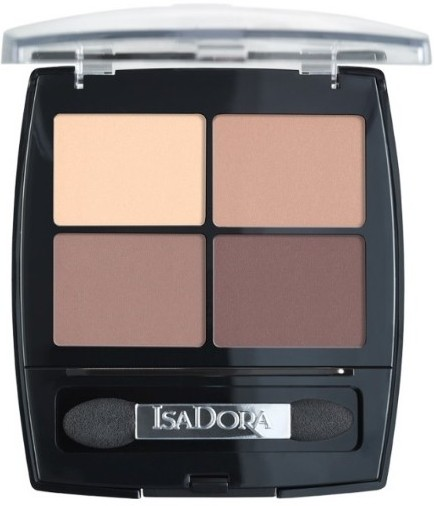 Тени для век IsaDora Eye Shadow Quartet, 44 Muddy Nudes, 7,2 г
