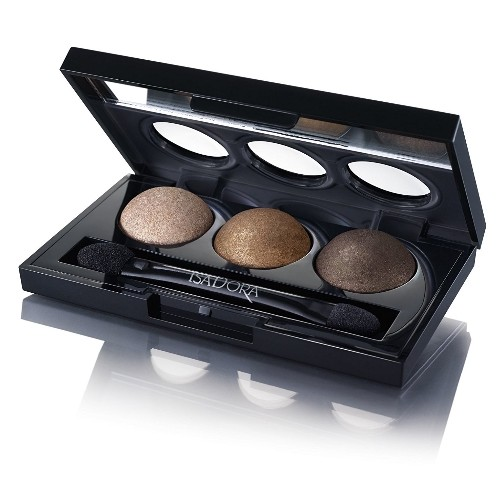 Тени для век IsaDora Eye Shadow Trio, 83 Havana Browns