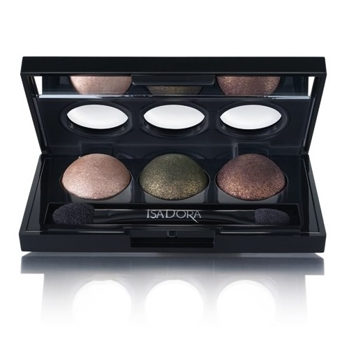 Тени для век IsaDora Eye Shadow Trio, 84 Forest