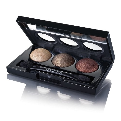 Тени для век «Eye Shadow Trio», оттенок 86 Leopard