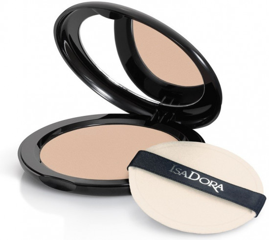 Пудра для лица IsaDora Velvet Touch Compact Powder, 10 Sheer Transparent