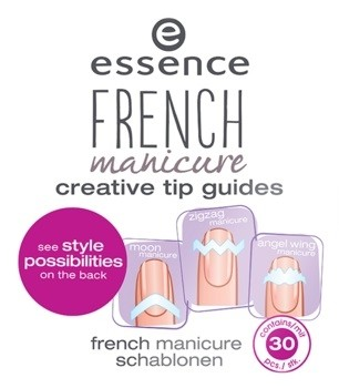 Полоски для французского маникюра «French manicure creative tip guides»