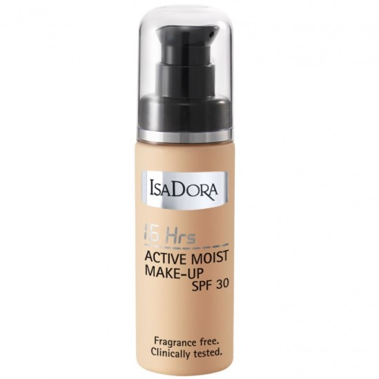 Тональный крем IsaDora 16h Active Moist Make-up SPF 30, 31 Fair Beige