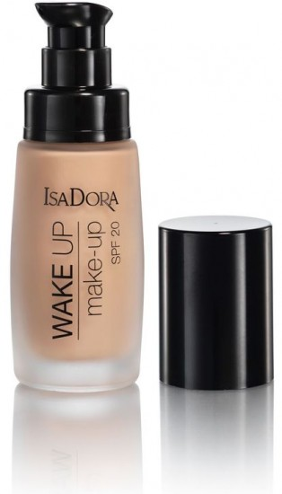 Тональный крем IsaDora Wake Up Make-up SPF 20, 02 Sand