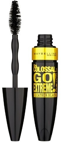 Тушь для ресниц «Colossal Go Extreme Leather Black»