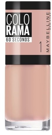 Лак для ногтей Maybelline Colorama, 1 Элегантный Нюд, 7 мл