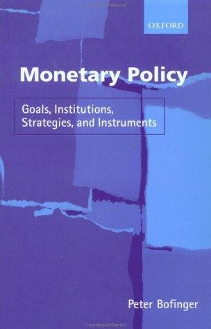an introduction to the goals of monetary policy in the united states Policy mistakes by the federal reserve were critical, as milton friedman and anna schwartz demonstrated in their a monetary history of the united states, 1867-1960 the fed's principal error was in failing to act as lender of last resort to the banking system as banking panics and other financial shocks swept across the united states.