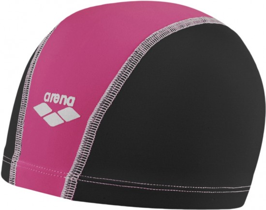 Шапочка для плавания Unix, Black/Fuchsia/White