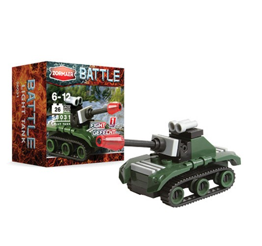 Конструктор Battle - Light Tank, 26 деталей