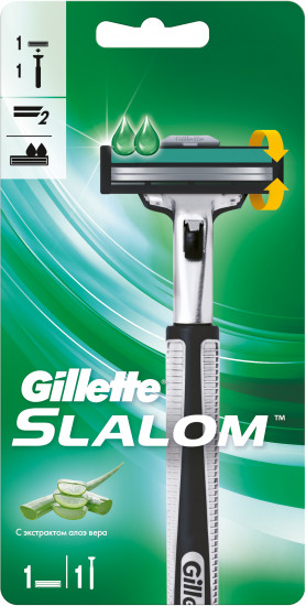 Бритва Gillette Slalom Plus