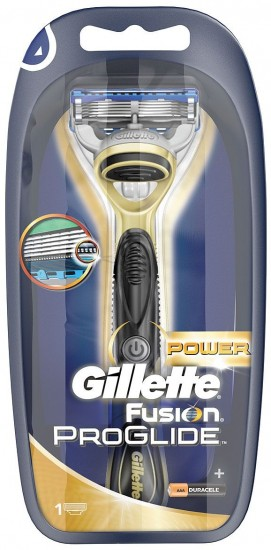 Бритва Gillette Fusion ProGlide Power Gold с 1 сменной кассетой