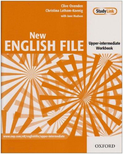 New English File: Upper-Intermediate: Workbook with key and MultiROM Pack