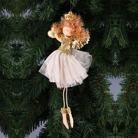 Новогодние украшения для кукол своими руками 6