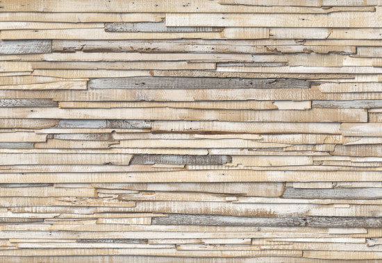Фотообои «Whitewashed Wood» (368 х 254 см)