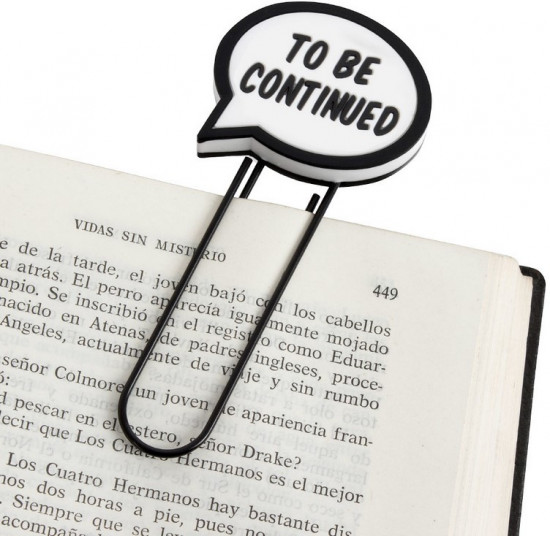 Закладка для книг «To be Continued»