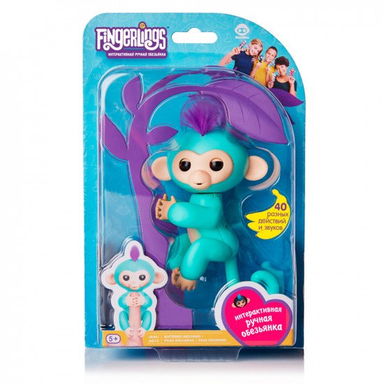 Интерактивная игра FINGERLINGS «Обезьянка Зоя»