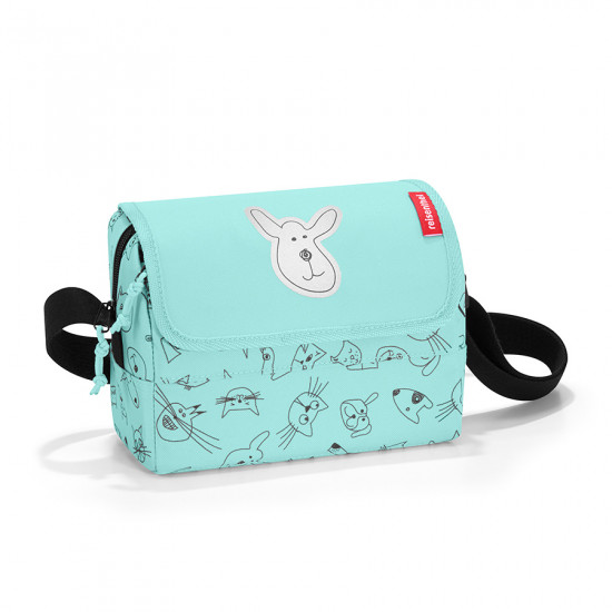 Сумка детская «Everydaybag kids», cats and dogs mint
