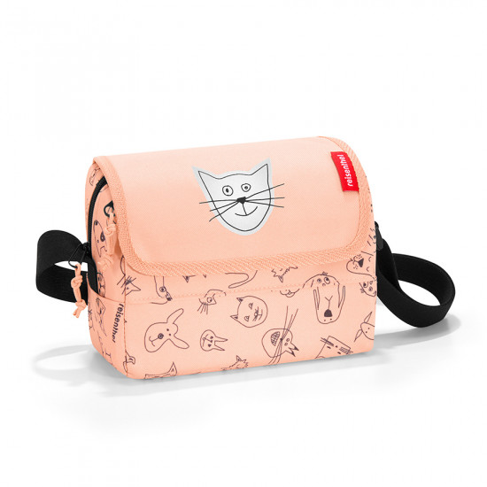 Сумка детская «Everydaybag kids», cats and dogs rose