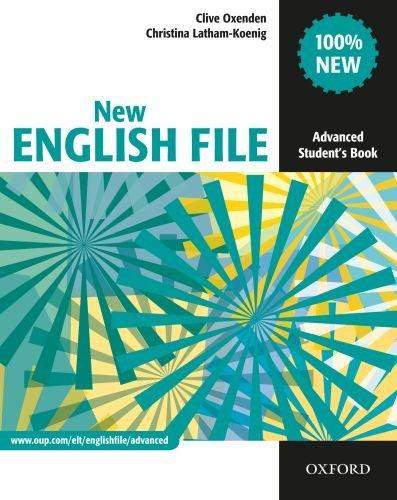 New English File: Advanced: Student`s Book