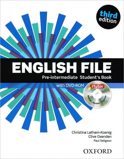 English File third edition: Pre-Intermediate: Student`s Book with iTutor