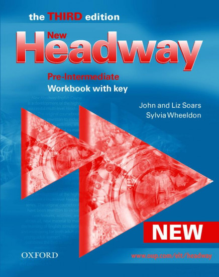 New Headway. Pre-Intermediate. Workbook with Key (Headway ELT) 3rd Edition