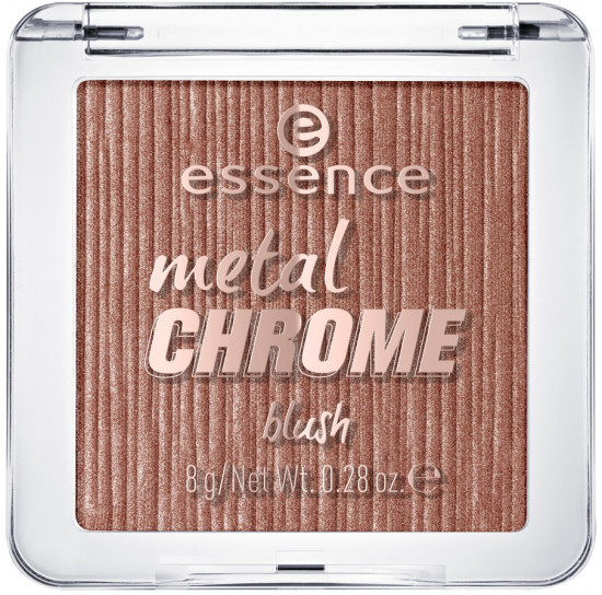 Румяна для лица «Metal chrome», оттенок 30 The beauty and the bronze