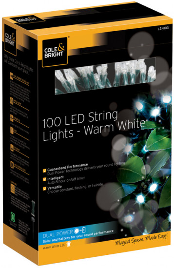 Гирлянда уличная String Lights (100 LED-ламп)