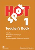 Hot Spot 1 Teacher's Book + CD-ROM