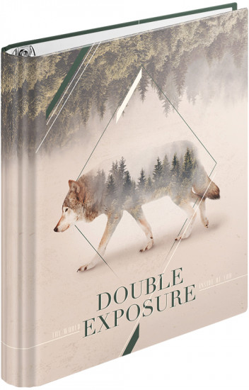 Тетрадь на кольцах «Природа. Double exposure» (120 листов, А5)