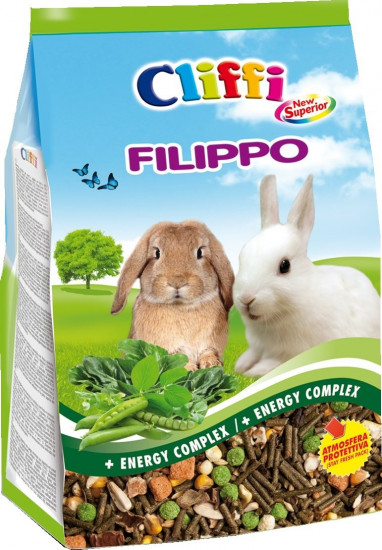 Корм для кроликов «Filippo Superior for dwarf rabbits»