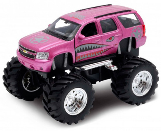 Модель машины «Chevrolet Tahoe Big Wheel Monster»