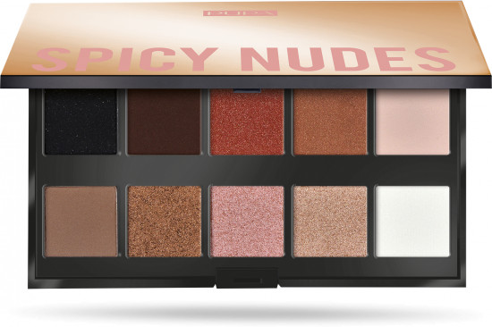 Палетка теней «Make Up Stories Spicy Nudes»