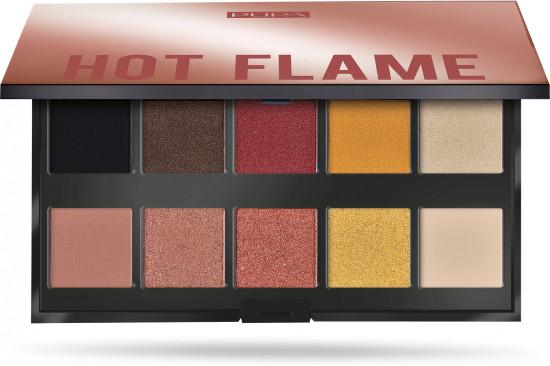 Палетка теней «Make Up Stories Hot Flame»