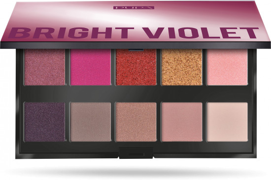 Палетка теней «Make Up Stories Bright Violet»