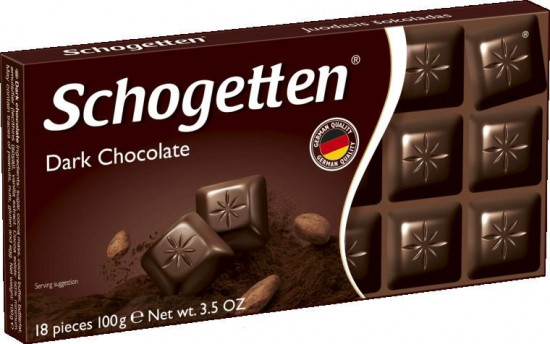 Шоколад Schogetten «Dark Chocolate»